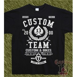 Camiseta, custom team