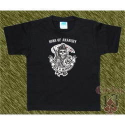 Camiseta de niño sons of anarchy