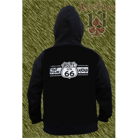 Sudadera con capucha, Get your kicks