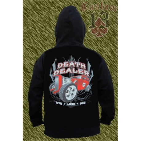 Sudadera con capucha, Death dealer, hot rod