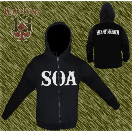 sudadera, Sons of Anarchy, soa