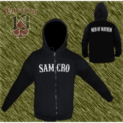 sudadera, Sons of Anarchy, samcro