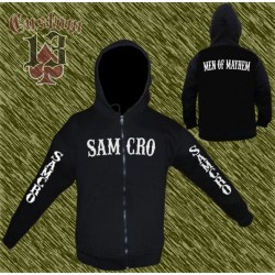sudadera, Sons of Anarchy, samcro, mangas estampadas