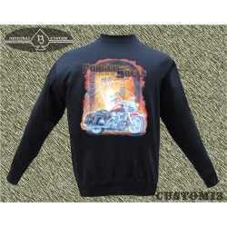 sudadera sin capucha, forged in our sould