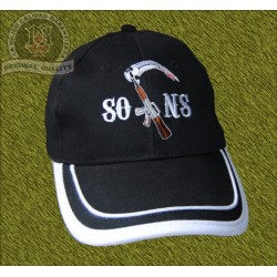gorra, SONS, con rifle