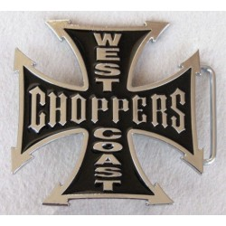 hebilla cruz chopper negra
