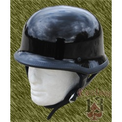 Casco nazi negro brillo