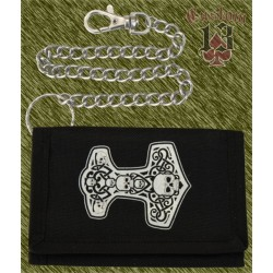 cartera nylon con cadena, Martillo Thor
