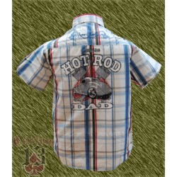 Camisa cuadros, Hot rod dad