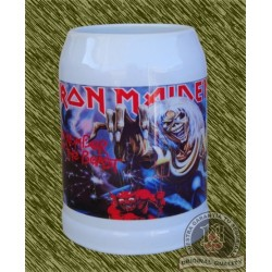 Jarra de porcelana, iron maiden, the number of the beast