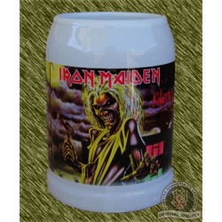 Jarra de porcelana, iron maiden, killers