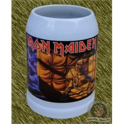 Jarra de porcelana, iron maiden, piece of mind