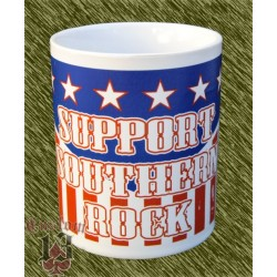 Taza de porcelana, support sothern rock
