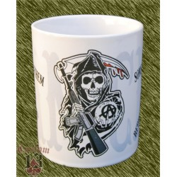 Taza de porcelana, sons of anarchy