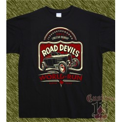 Camiseta, hot rod lonestar roudup