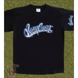 Camiseta negra, west coast customs 1
