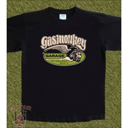 Camiseta negra, Gas monkey modelo 8