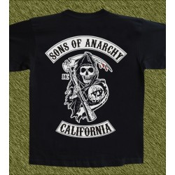 Camiseta negra, Sons of anarchy