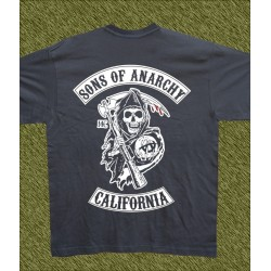 Camiseta grafito, Sons of anarchy