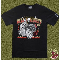 Camiseta Billy eight, hot racer, bad rod