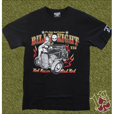 Camiseta Billy eight, bad rod