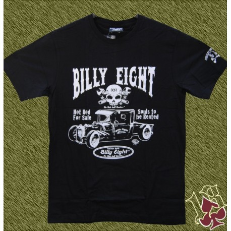 Camiseta Billy eight, hot rod for sale