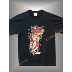 camiseta sailor jerry, life and deat