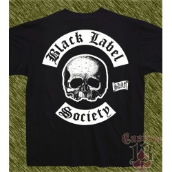 Camiseta, Black Label Society, calavera