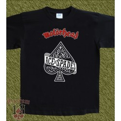 Camiseta, Motorhead, ace of spades