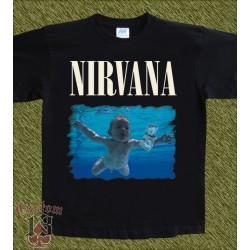 Camiseta, Nirvana nevermind