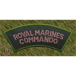 Parche royal marines commando