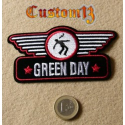 parche green day rojo