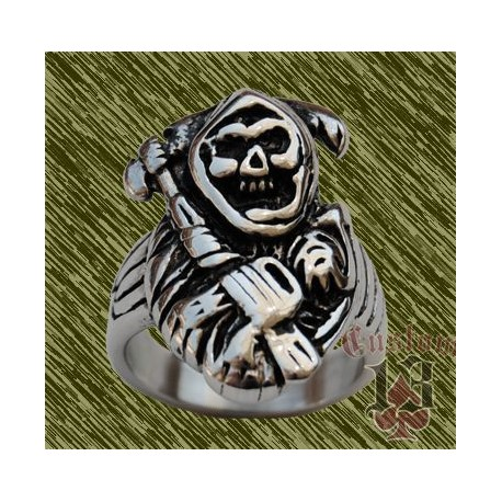 Anillo de acero, calavera sons of anarchy