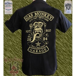Camiseta oficial, Gas monkey patch