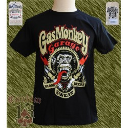 Camiseta oficial, Gas monkey sparkplugs