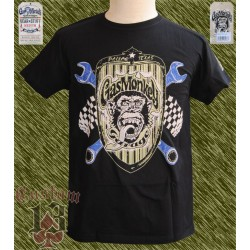Camiseta oficial, Gas monkey grill