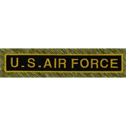 parche bordado, stick US air force
