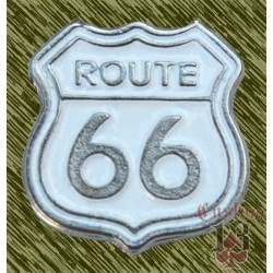 pin route 66 blanco