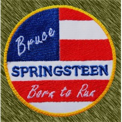 Parche bordado, bruce springsteen, born to run