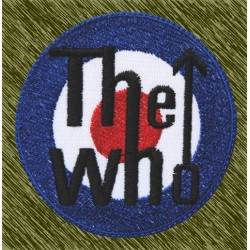 Parche bordado, the who