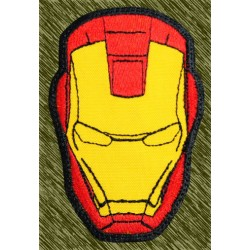 parche bordado, iron man