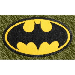 parche bordado, batman logo