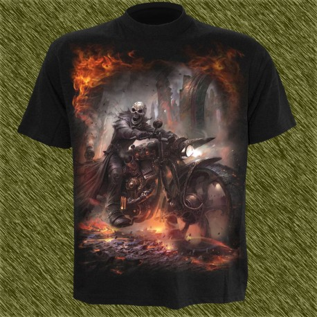 Camiseta dark13, biker en acción