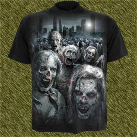 Camiseta dark13, walking dead