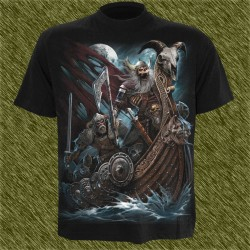 Camiseta dark13, ataque vikingo