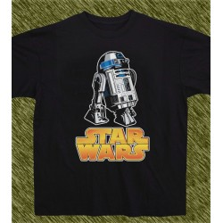 camiseta star wars, R2D2