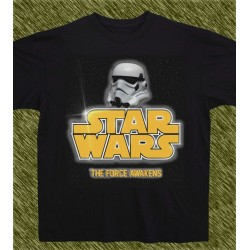 camiseta star wars, the force awakens