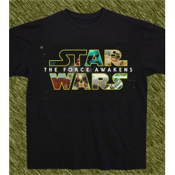 camiseta star wars, the force awakens, new