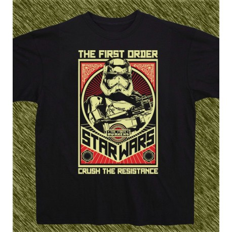 camiseta star wars, the first order