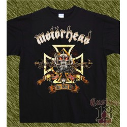 Camiseta negra, motorhead, the best of